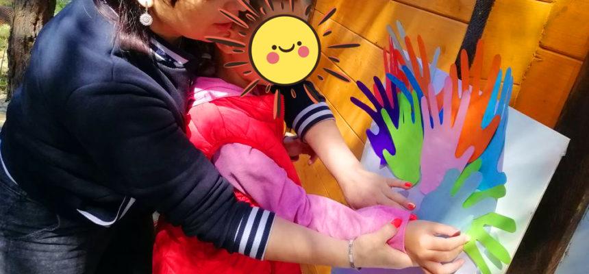 ігри з дітьми в літньому таборі Київ