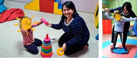 Корекційно-розвиткові заняття для дітей з розумовою відсталістю, які мають розлади аутичного спектра